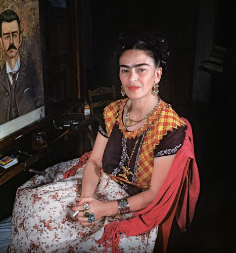Frida Kahlo Gisèle Freund, fotografia, Niezła sztuka