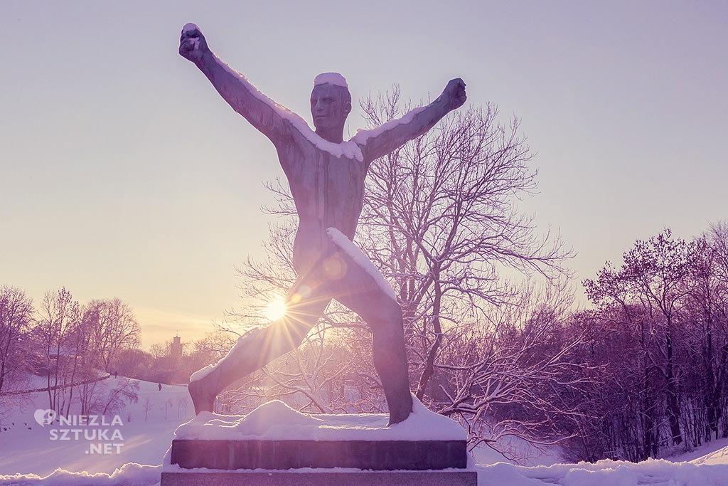 Parku Rzeźby Vigelanda we Frogner w Oslo