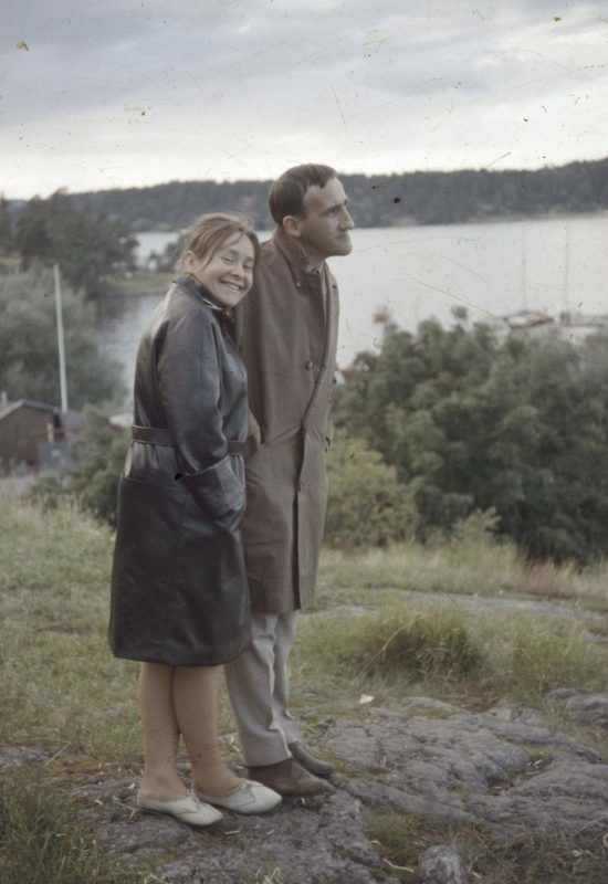Tadeusz Kantor i Maria Stangret
