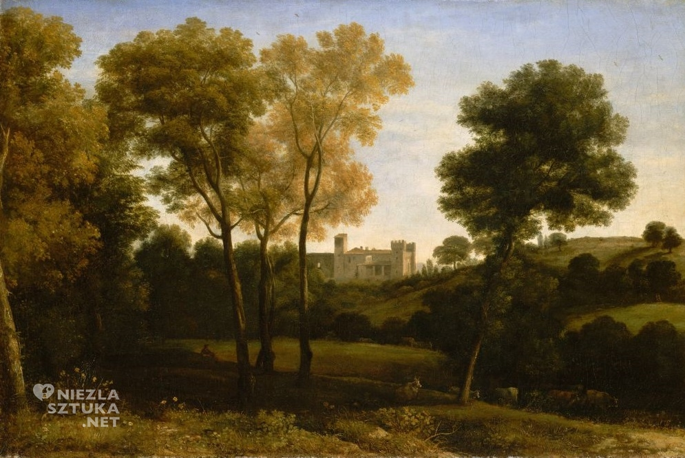 Claude Lorrain,View of La Crescenza
