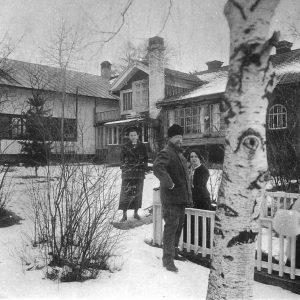 Lilla Hyttnäs - dom Larssonów