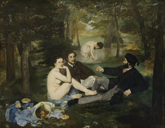 Édouard Manet Śniadanie na trawie Niezła sztuka