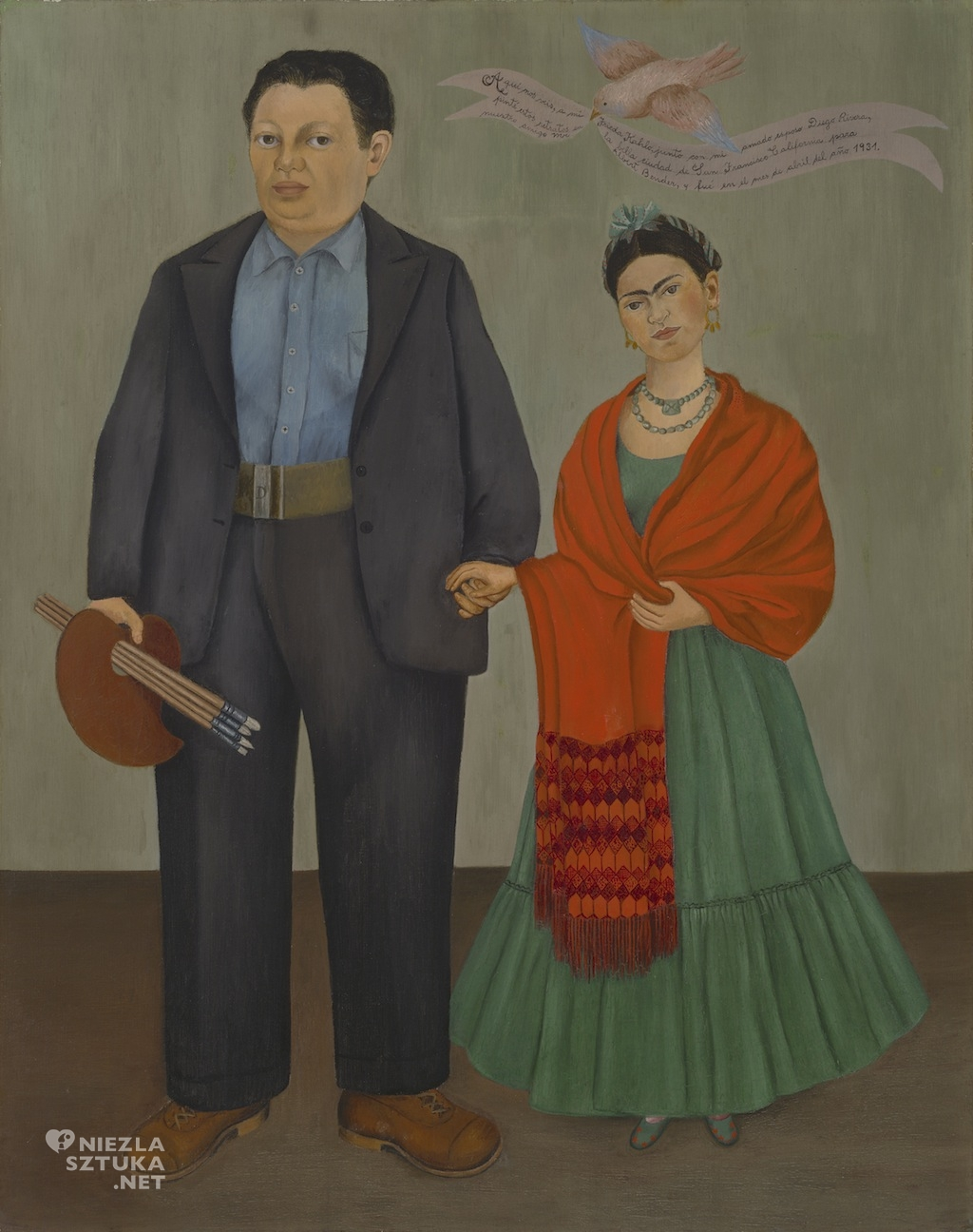 Frida Kahlo, Diego Rivera, Niezła sztuka