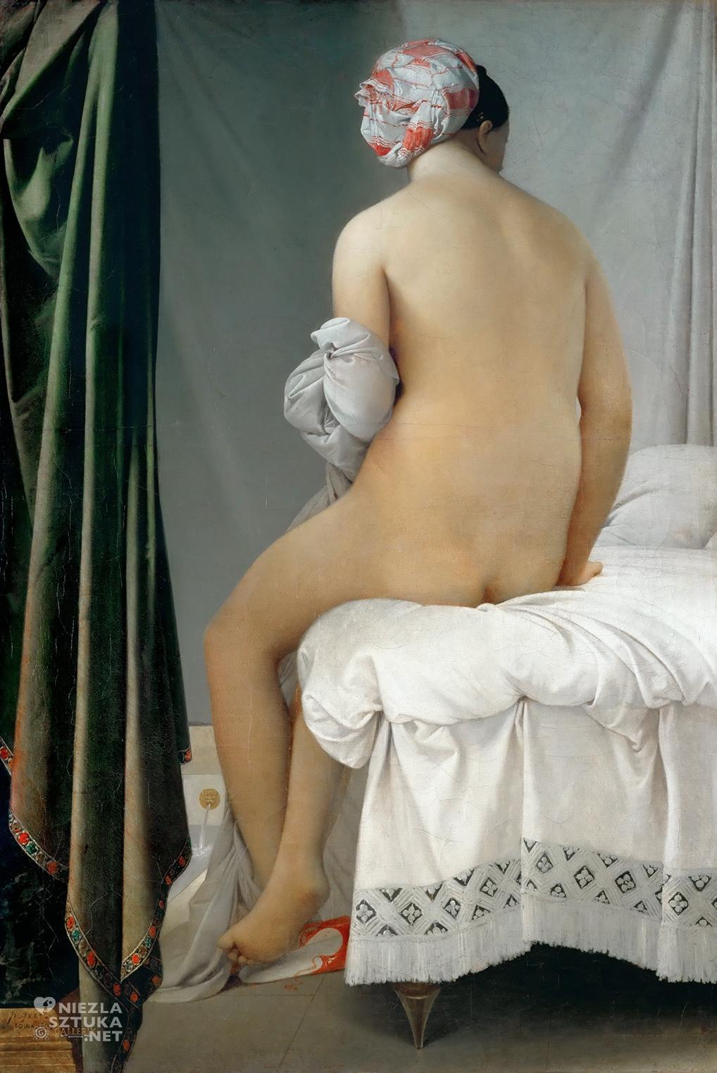 Jean-Auguste-Dominique Ingres <em>Kąpiąca się</em> | 1808, 146 × 97 cm, Luwr