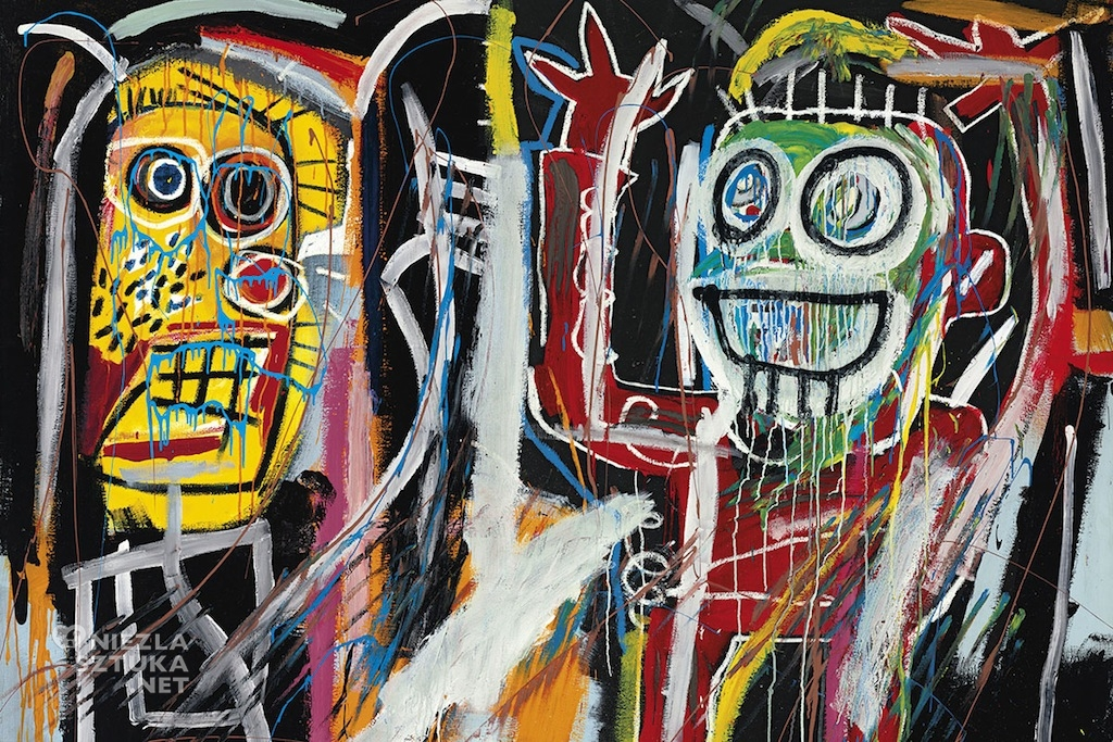 Jean-Michel-Basquiat Dustheads | 1982