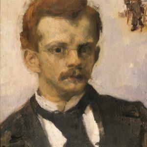 Józef Mehoffer, autoportret, sztuka polska, Niezła sztuka