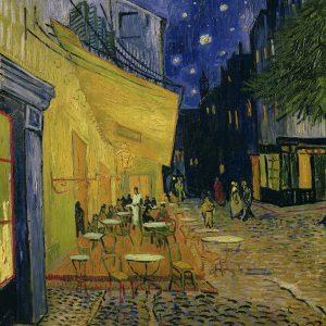 Vincent van Gogh, Taras kawiarni w nocy, 1888, Kröller-Müller Museum, Otterlo, Holandia, Niezła sztuka