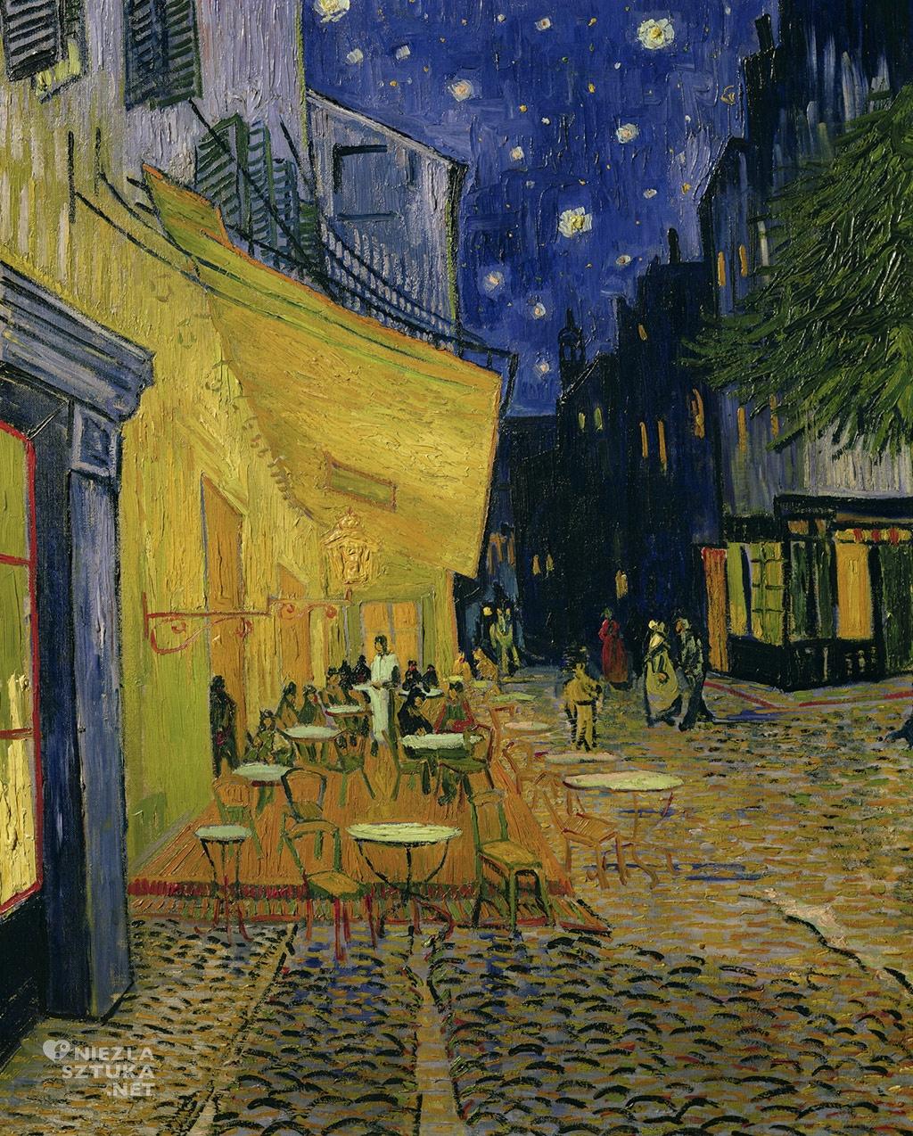 Vincent_van_Gogh Taras kawiarni w nocy