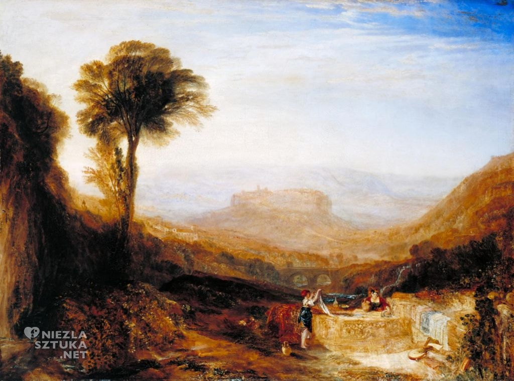 William Turner Widok Orvieto Tate Gallery