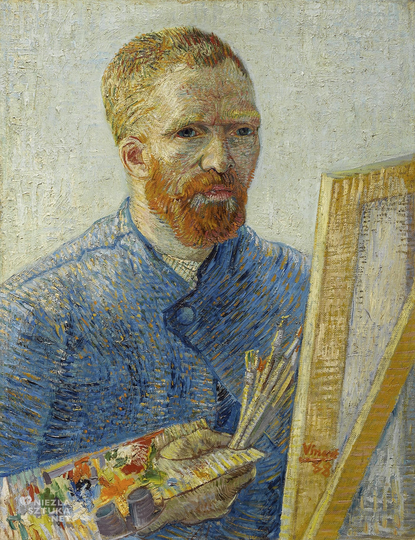 Vincent van Gogh, Autoportret ze sztalugą, Niezła Sztuka