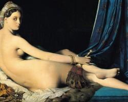Jean-Auguste-Dominique Ingres Wielka Odaliska
