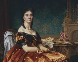 Józef Simmler, Portret Emilii Włodkowskiej