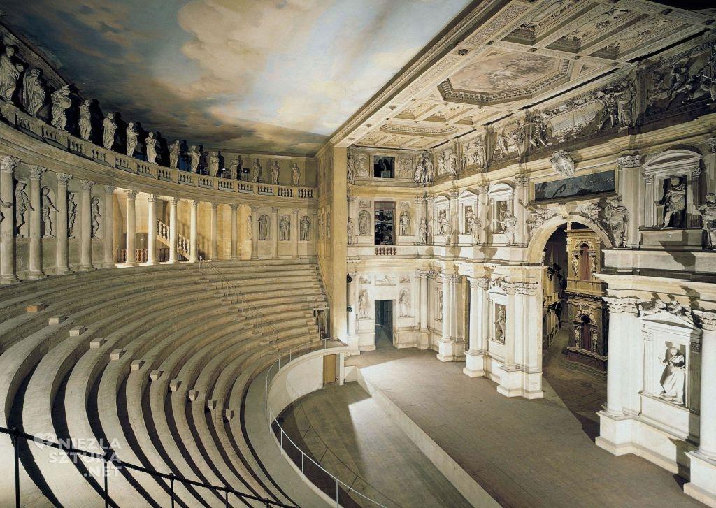 Teatro Olimpico W Vicenzy W Hołdzie Architekturze Teatrów