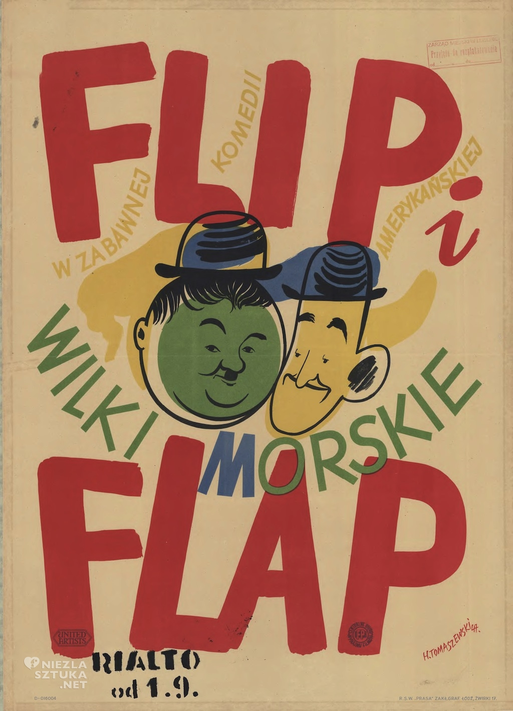 Henryk Tomaszewski Flip i Flap