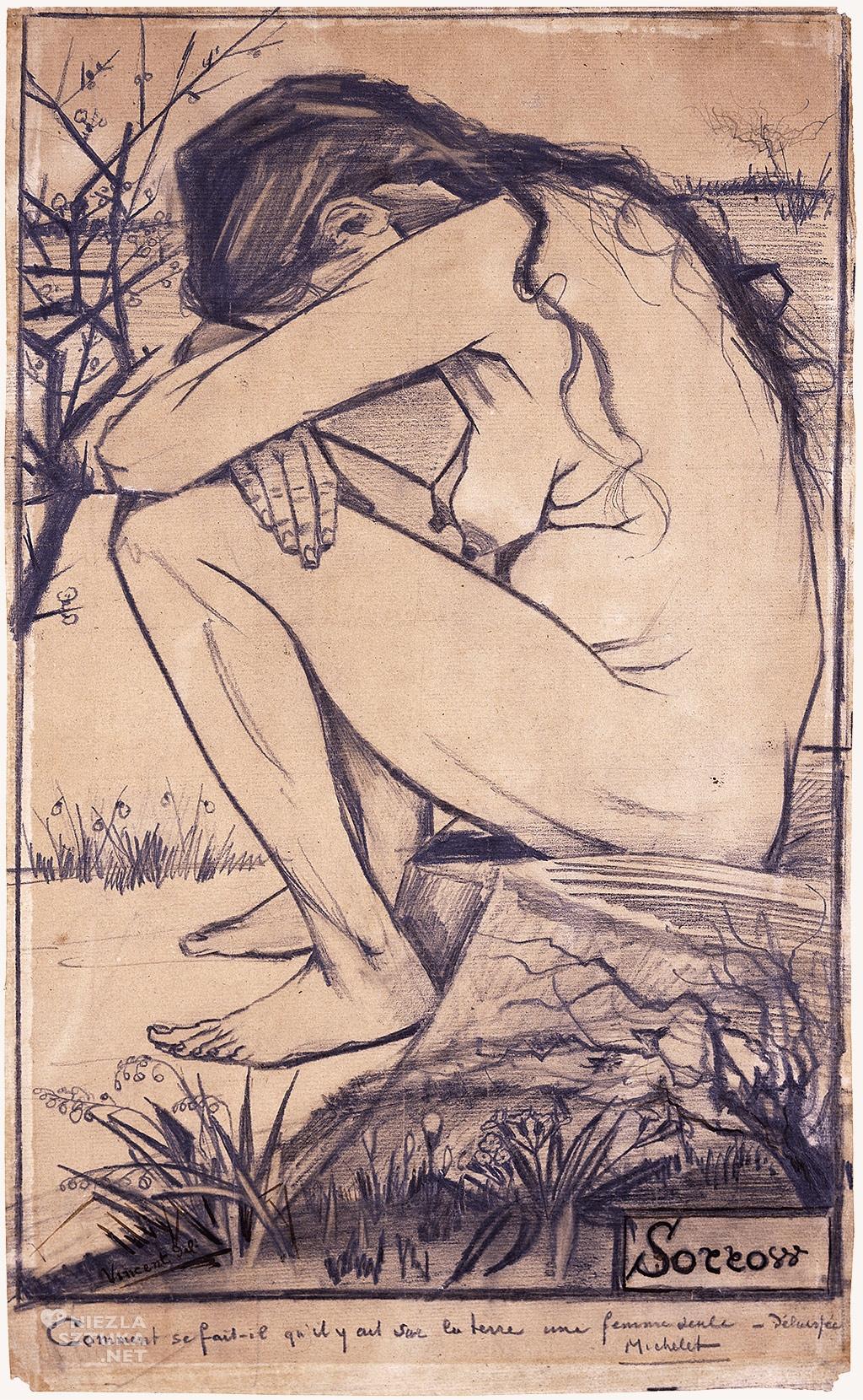 Vincent van Gogh, Smutek, rysunek, Niezła Sztuka