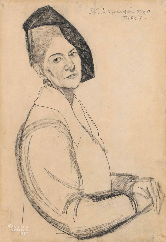 waliszewski zygmunt portret matki