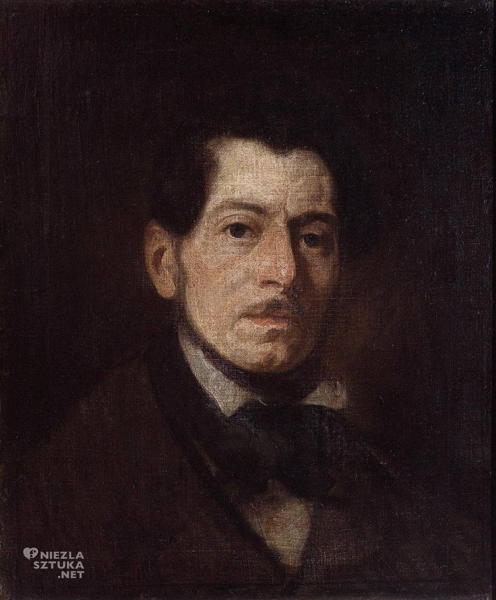 Piotr Michałowski, Autoportret