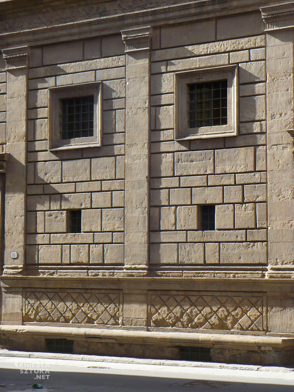 Palazzo Rucellai Florencja Alberti