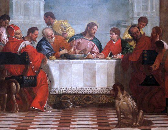 Paolo Veronese Uczta w domu Lewiego | 1573