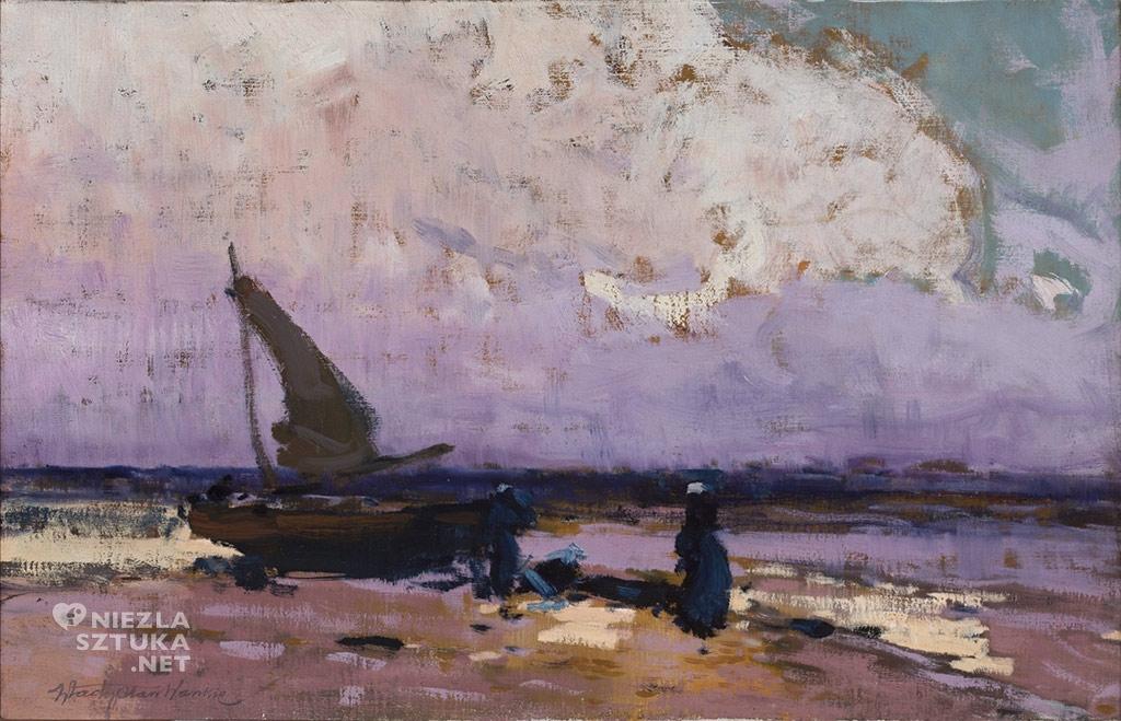 władysław wankie morze i żaglówka