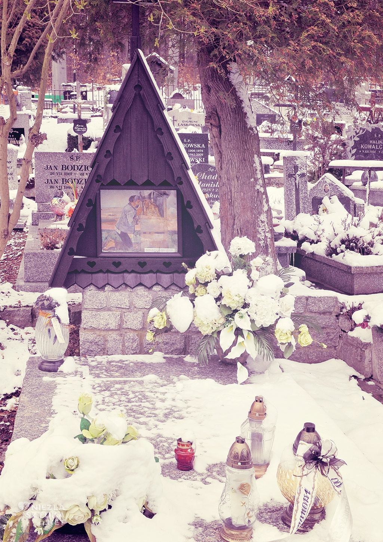 Wlastimil Hofman, grób, Szklarska Poręba, fot. Fundacja Niezła sztuka
