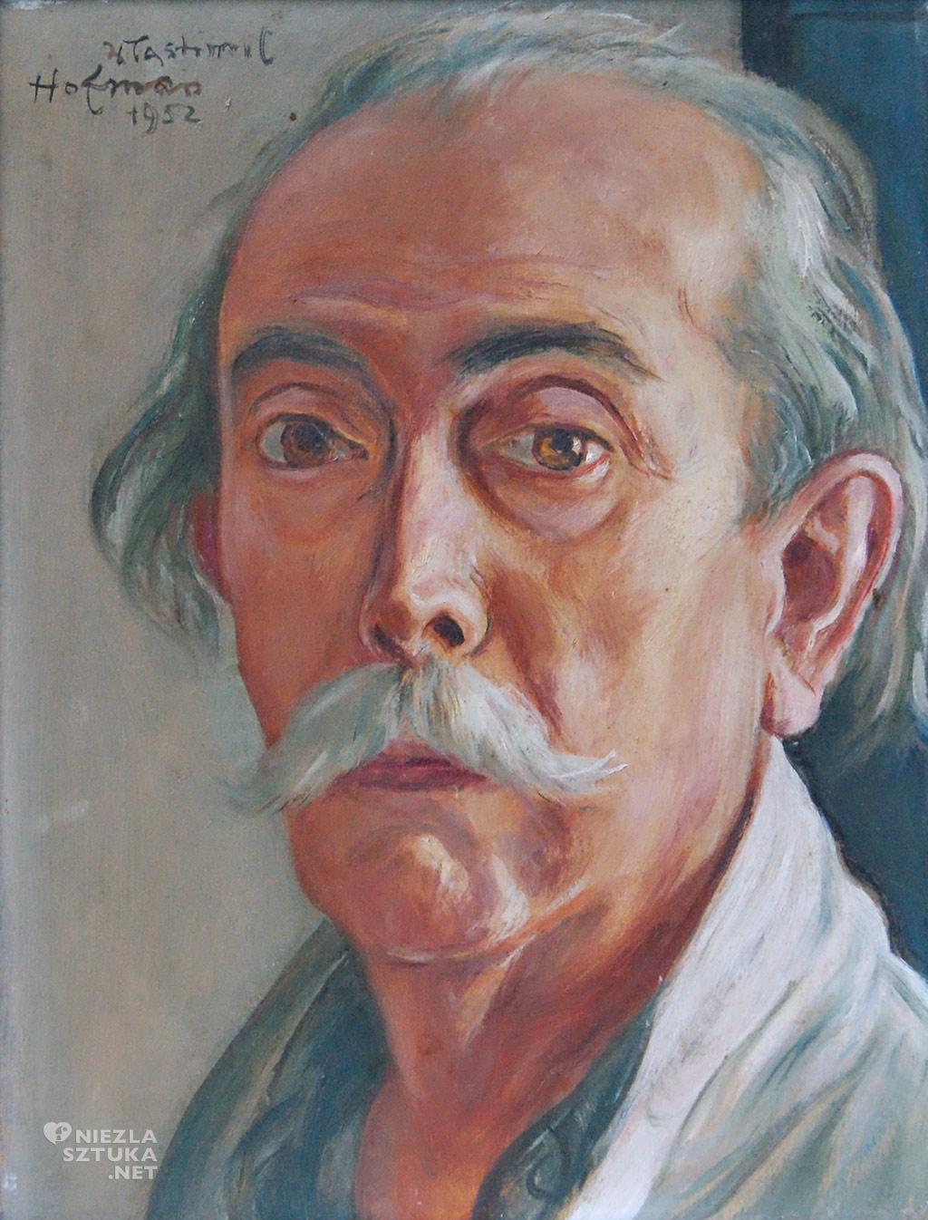 Wlastimil Hofman Autoportret, 1952, fot. dzięki uprzejmości Muzeum Dom Hauptmannów