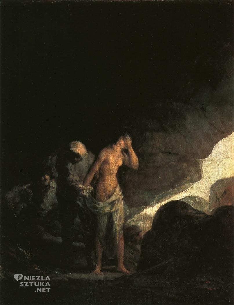 Francisco Goya, Bandyta rozbierający kobietę