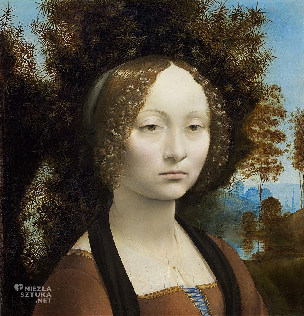 Leonardo da Vinci Portret Ginevry Benci