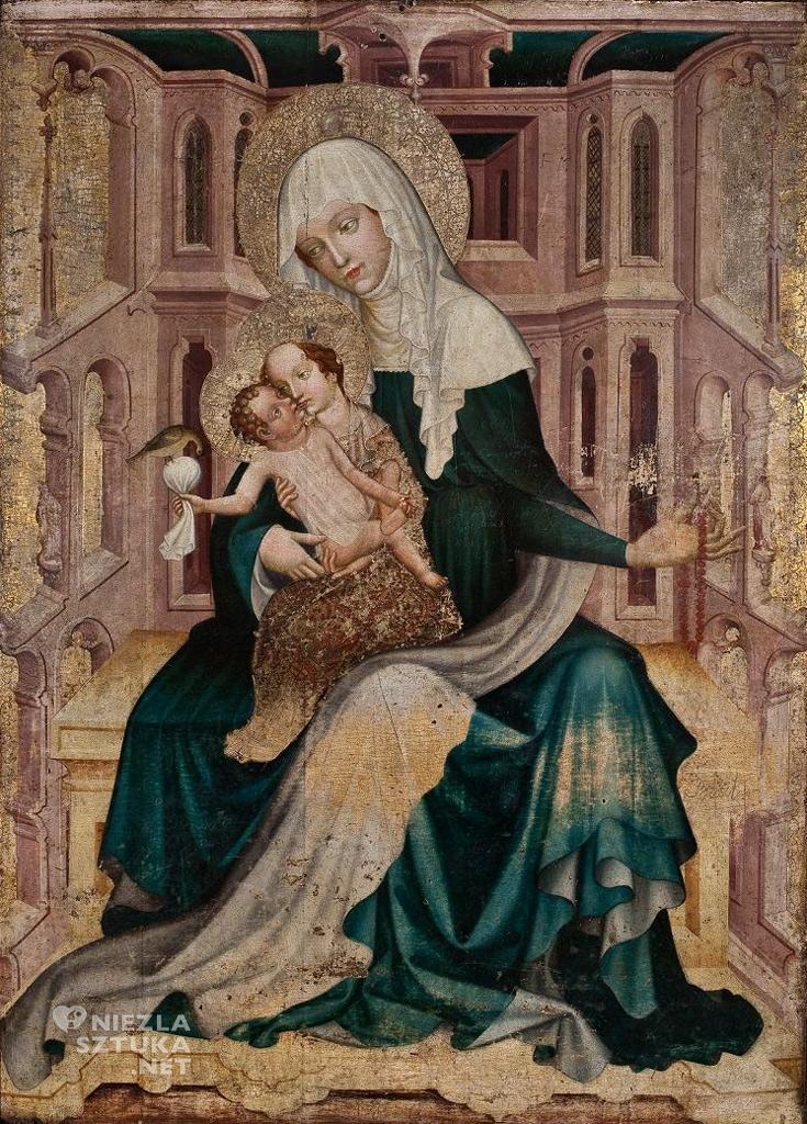 Malarz praski Św. Anna Samotrzeć, amulety w sztuce