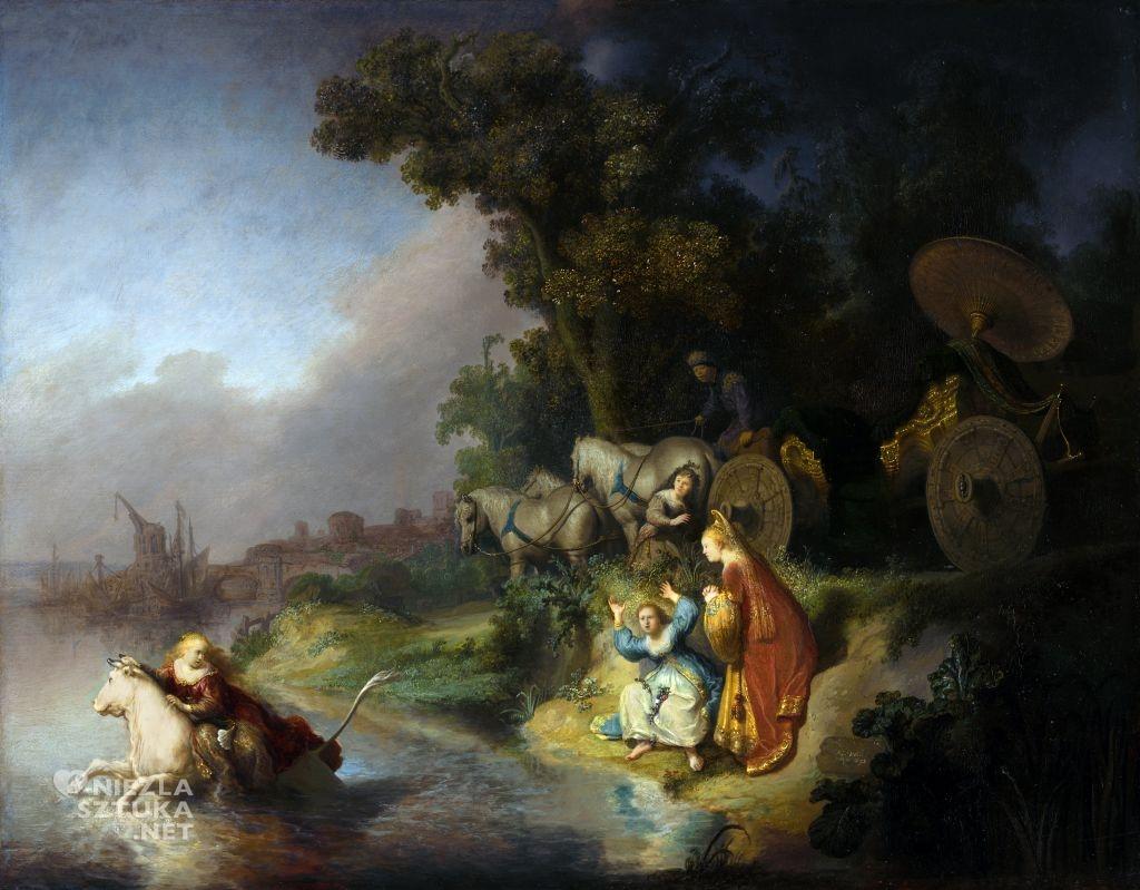 Rembrandt Porwanie Europy