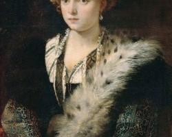 Tycjan Isabella d'Este