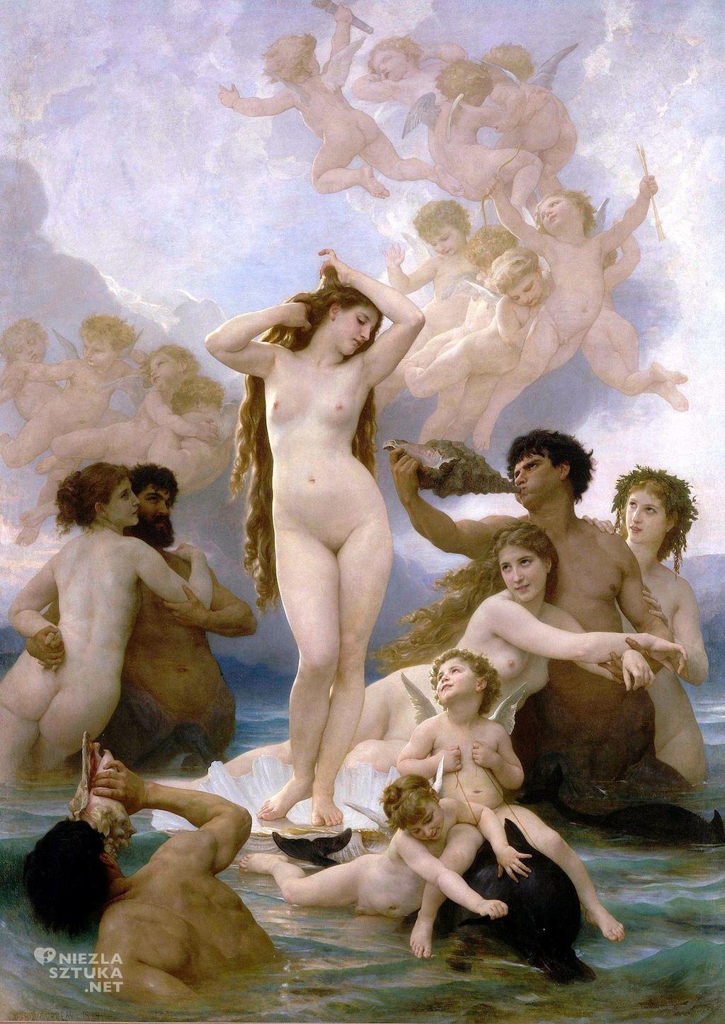 William Adolphe Bouguereau Narodziny Wenus