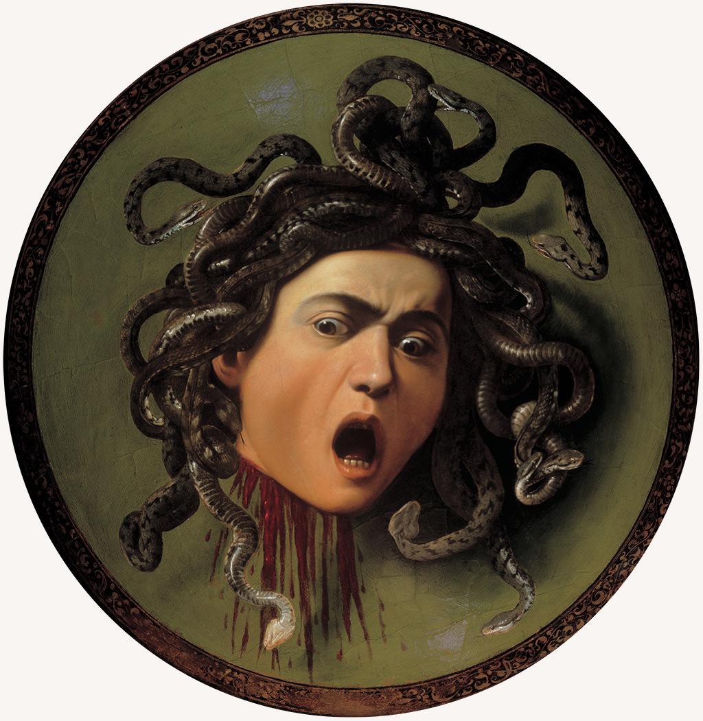 Caravaggio, Głowa Meduzy, Meduza, Niezła sztuka