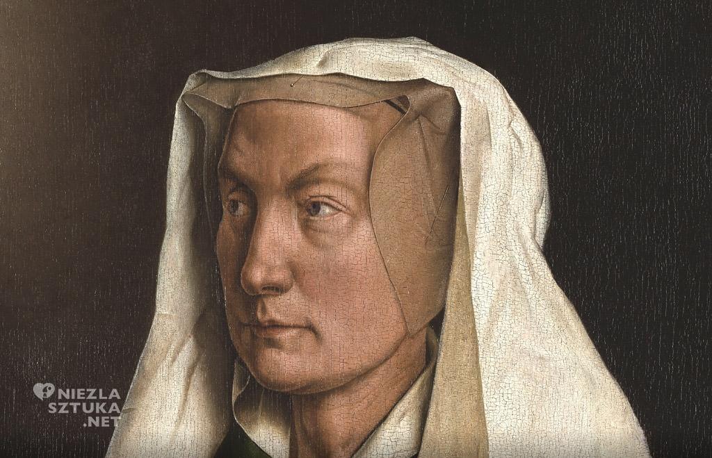 Elisabeth – Hubert i Jana van Eyck <em>Ołtarz Gandawski (Adoracja Mistycznego Baranka)</em>, poliptyk tablicowy, 350 × 500 cm, Katedra Świętego Bawona, Gandawa