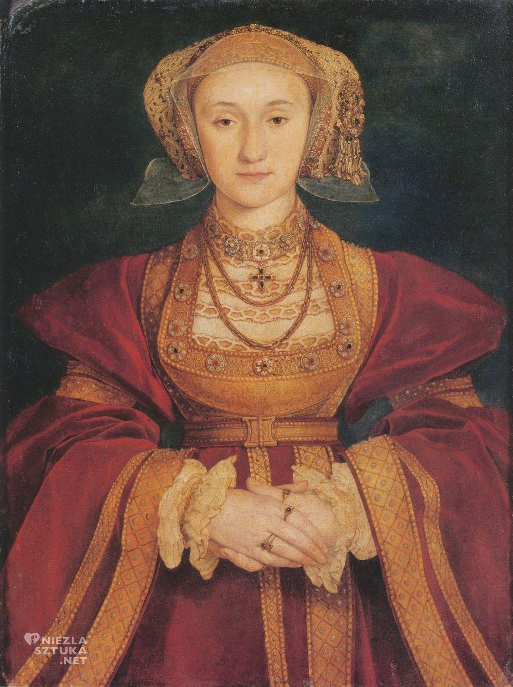 Hans Holbein Młodszy Anna z Kleve