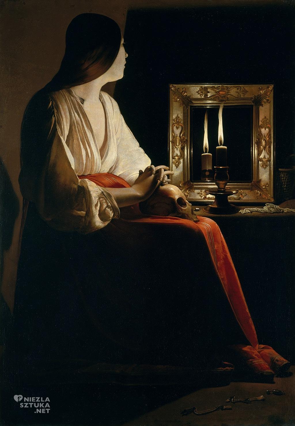 Georges de La Tour <em>Pokutująca Maria Magdalena</em> | ok. 1640, MetMuseum