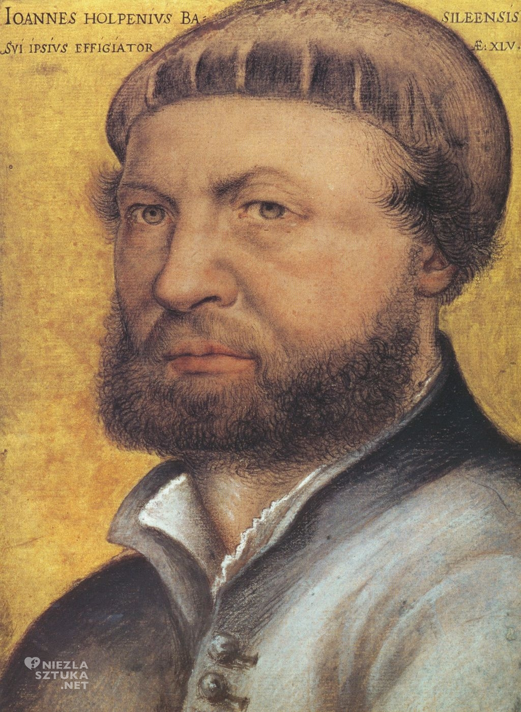 Hans Holbein Autoportret