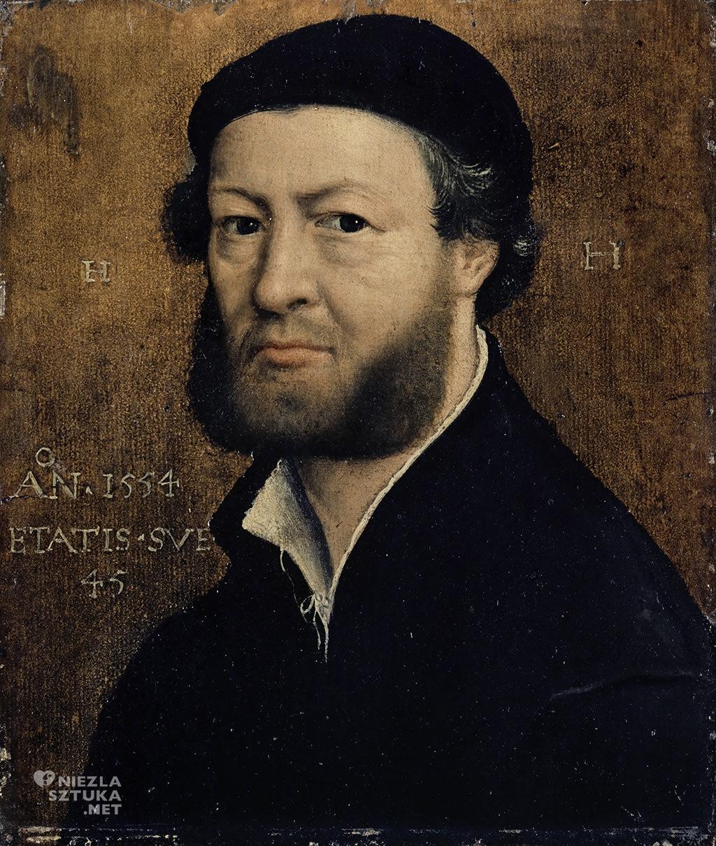 Hans Holbein Młodszy Autoportret