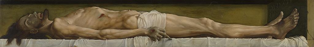 Hans Holbein Młodszy, Chrystus w grobie, Niezła sztuka