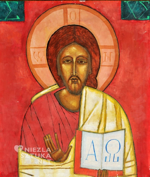 Jerzy Nowosielski Chrystus Pantokrator
