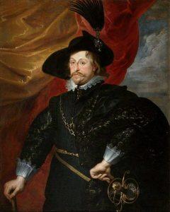 Peter Paul Rubens lub jego warsztat Portret Władysława IV Wazy | ok. 1620, Zamek Królewski na Wawelu