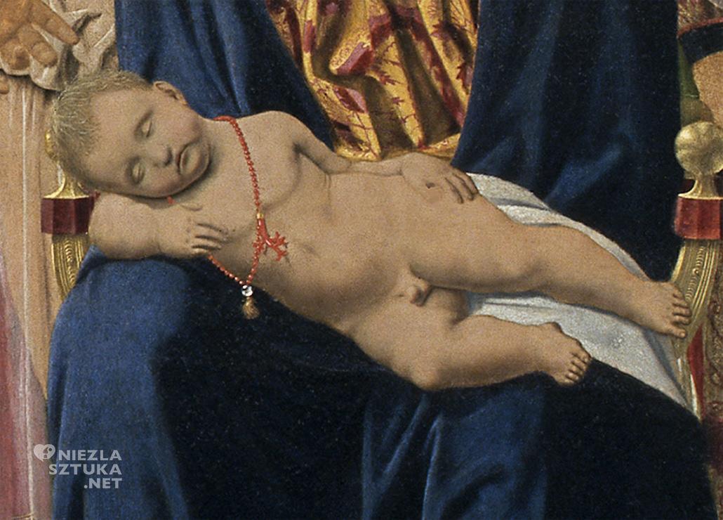 Piero della Francesca Madonna z Dzieciątkiem w otoczeniu świętych