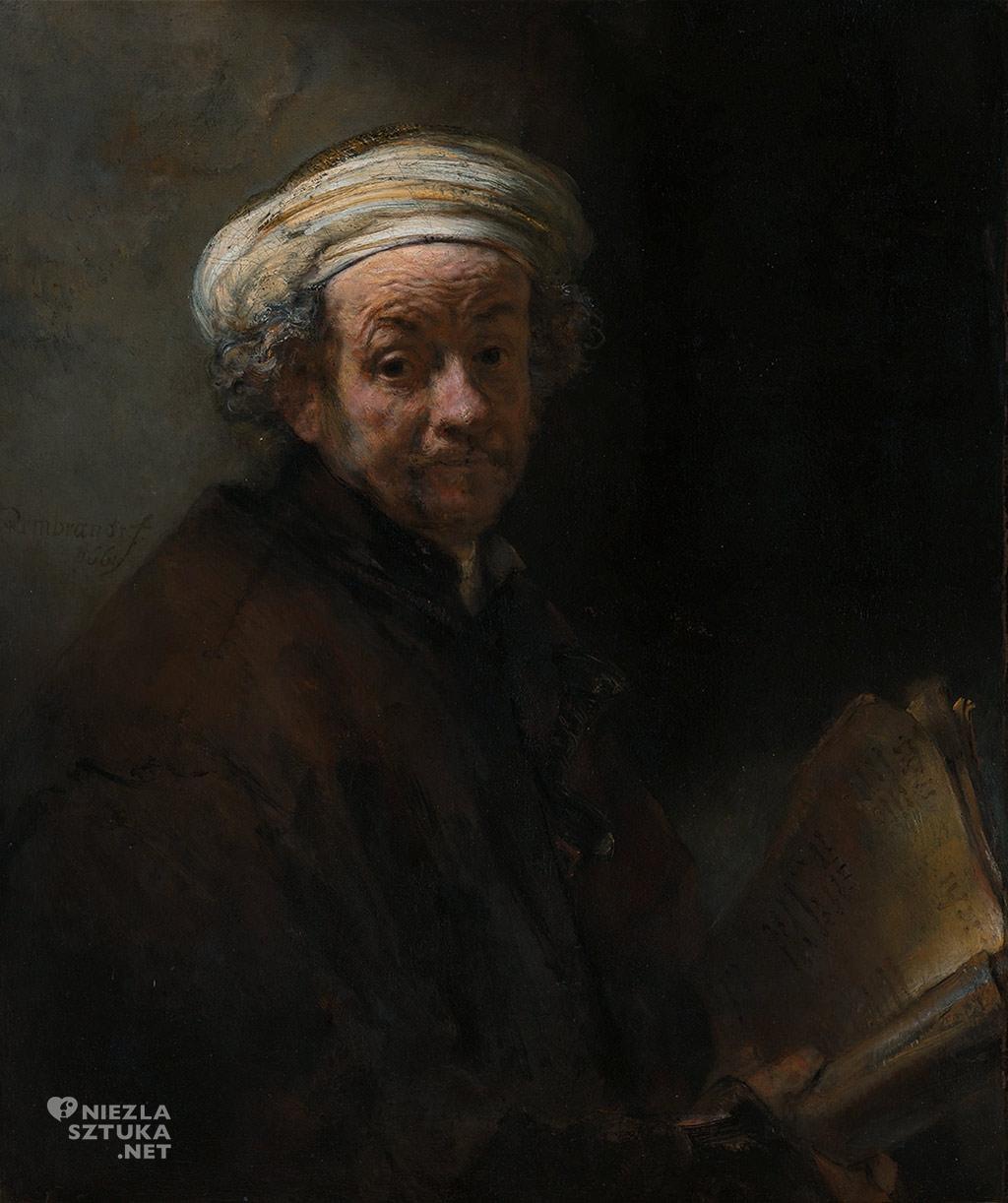 Rembrandt, Autoportret, św. Paweł, sztuka holenderska, Niezła sztuka