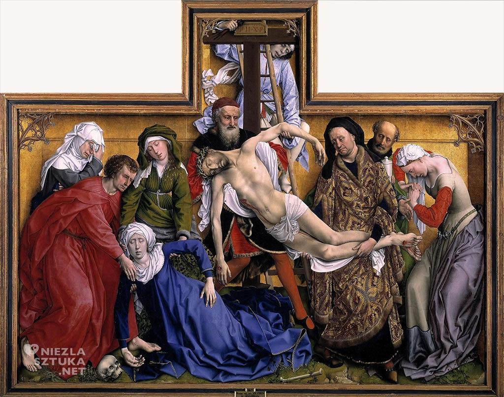 Rogier van der Weyden Zdjęcie z krzyża Prado