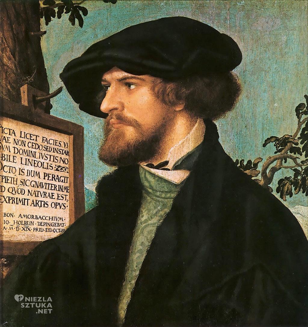 Hans Holbein Młodszy Portret Bonifaciusa Amerbacha