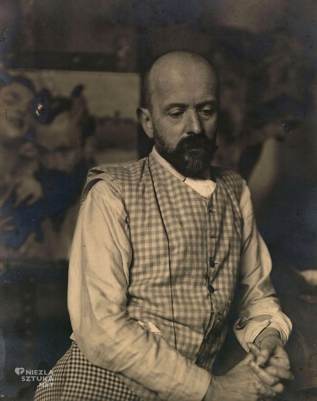 Jacek Malczewski, ok. 1910, fotografia ze zbiorów Muzeum im. Jacka Malczewskiego w Radomiu