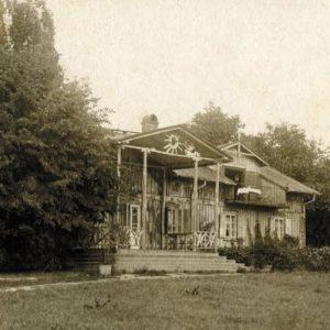 Dworek w Kuklówce, Józef Chełmoński, Niezła sztuka