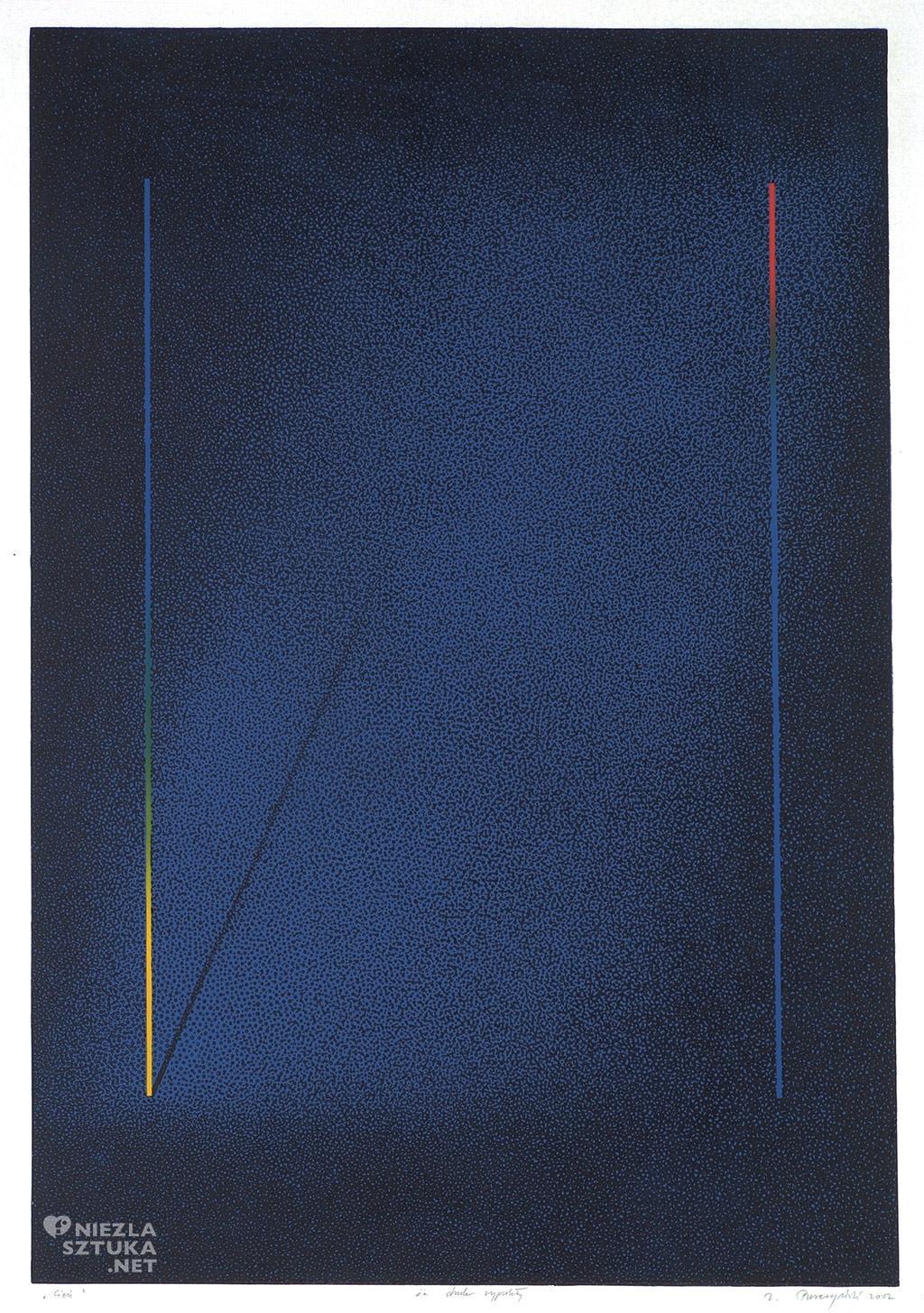 Zbigniew Purczyński Cień | 2002, druk wypukły kolor, 88 × 60