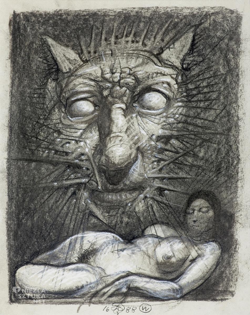Franciszek Starowieyski, Kot, fot. Agraart