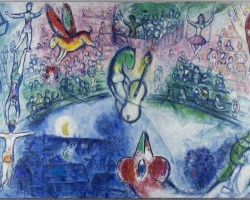 Marc Chagall La Commedia dell'Arte